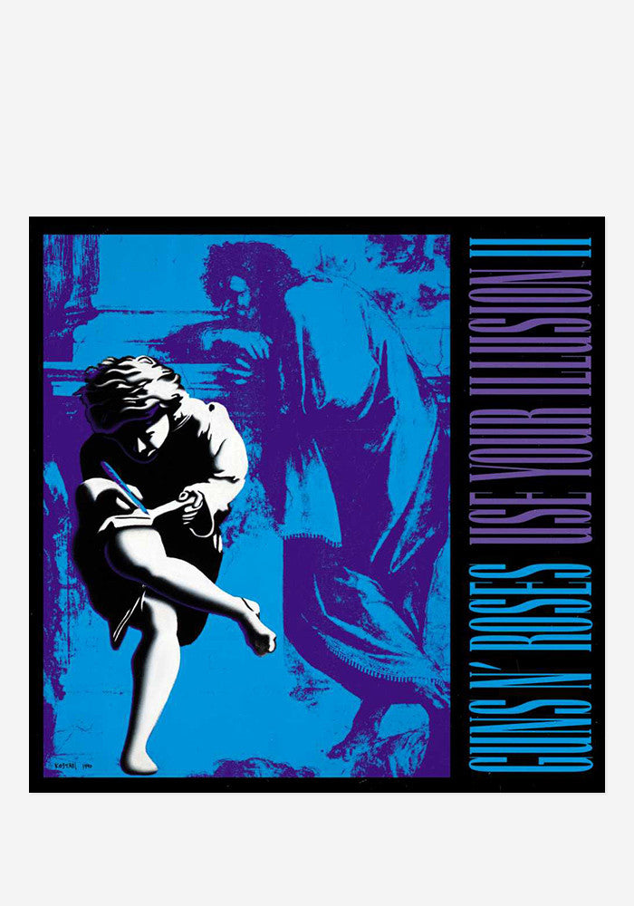 GUNS'N'ROSES Use Your Illusion II 2 LP