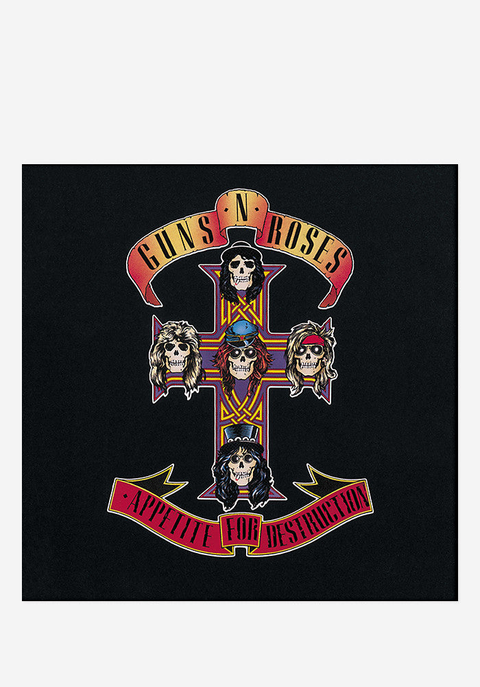 GUNS'N'ROSES Appetite For Destruction LP