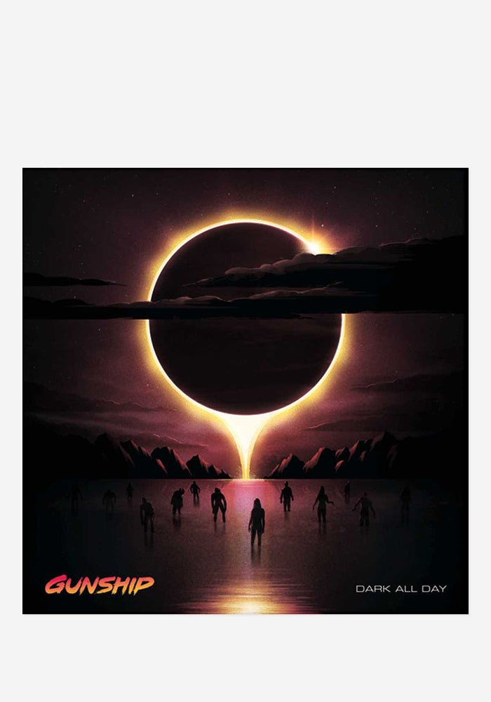 GUNSHIP Dark All Day CD With Autographed CD Booklet