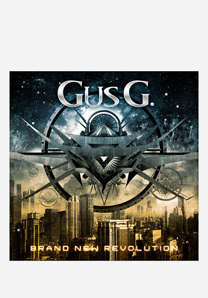 GUS G. Brand New Revolution With Autographed Booklet