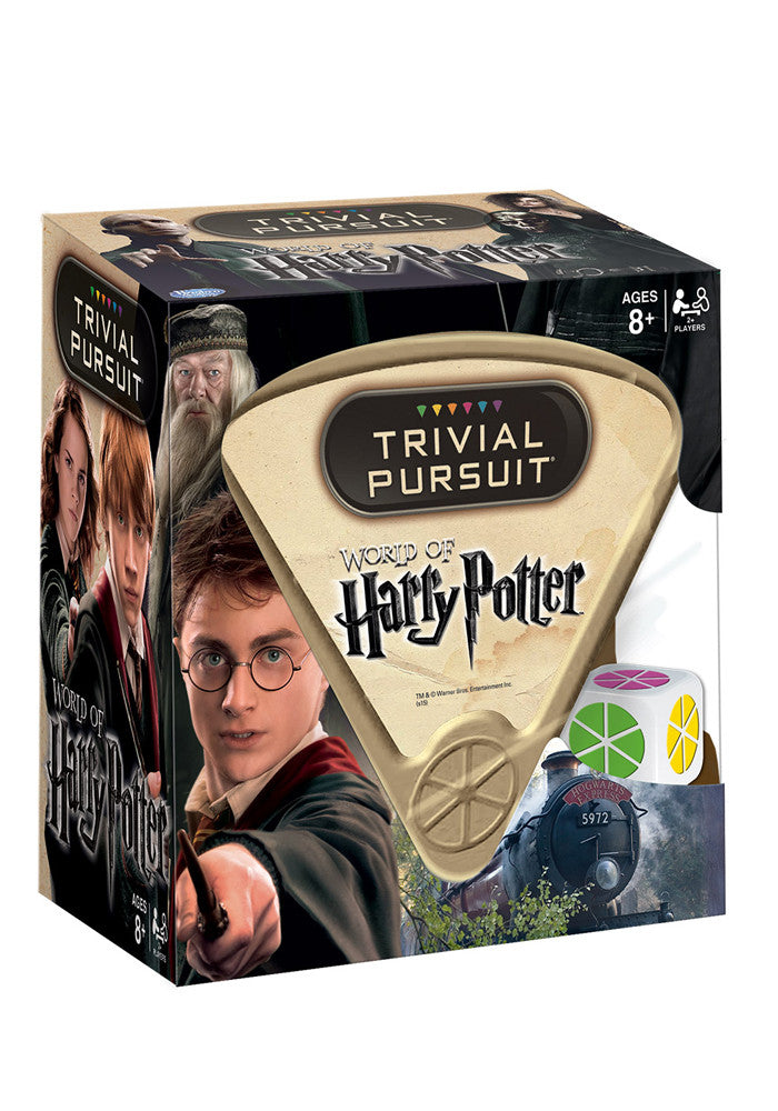 HARRY POTTER Harry Potter Trivial Pursuit Game