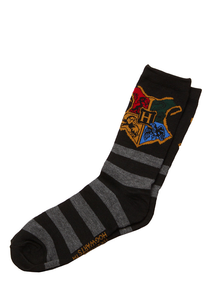 HARRY POTTER Hogwarts School Crest Socks