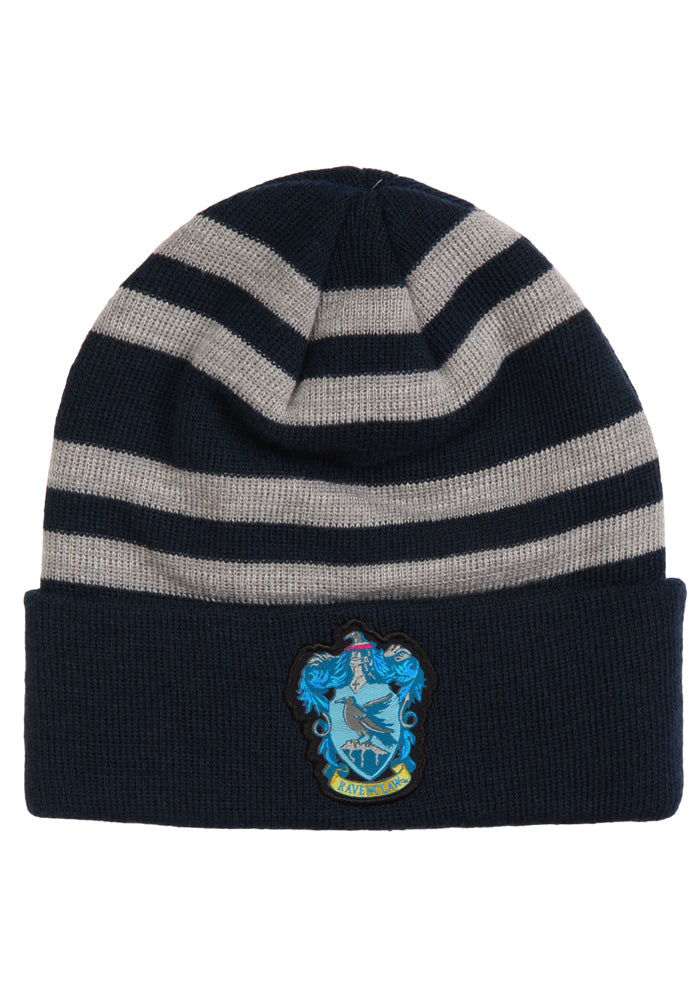 HARRY POTTER Ravenclaw Crest Striped Beanie