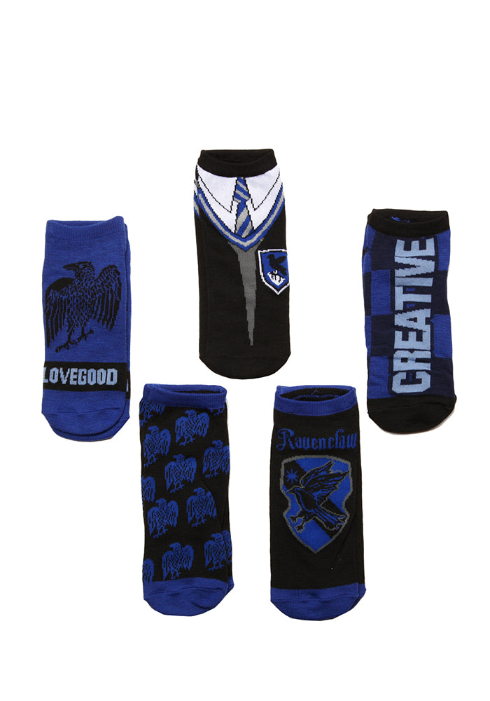 HARRY POTTER Ravenclaw House Student Ankle Socks - 5-Pack