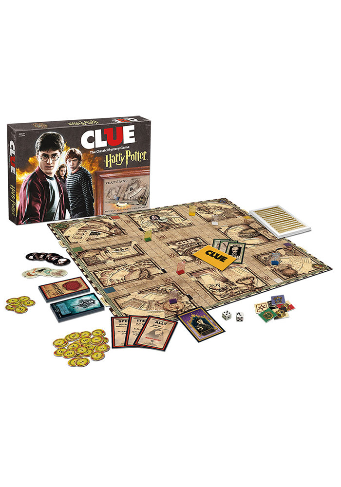 HARRY POTTER Clue: Harry Potter Edition Board Game