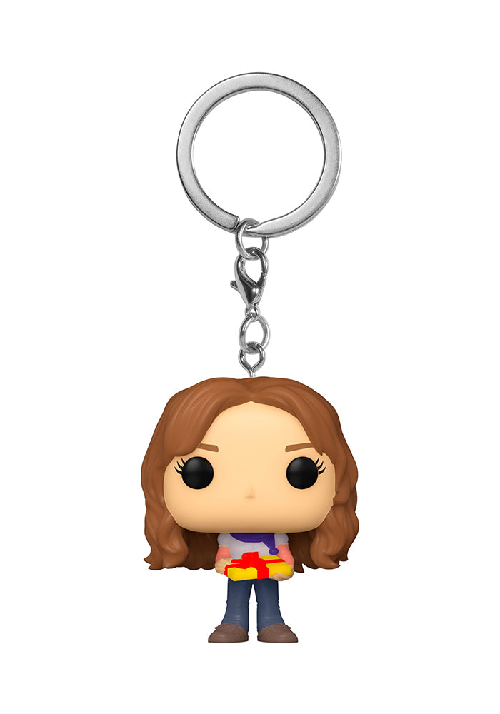 HARRY POTTER Funko Pocket Pop! Keychain: Harry Potter - Holiday Hermione Granger