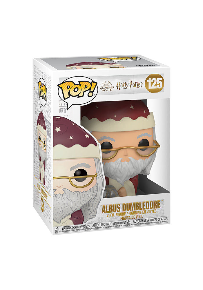 HARRY POTTER Funko Pop! Movies: Harry Potter - Holiday Dumbledore