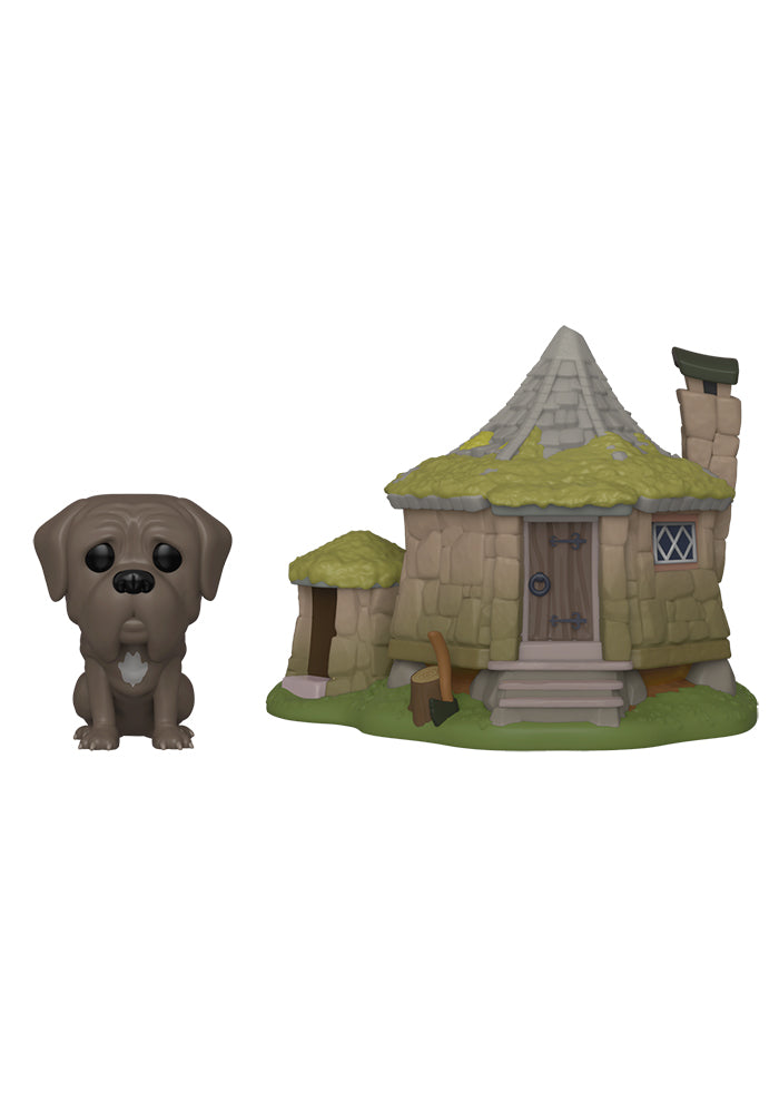 HARRY POTTER Funko Pop! Town: Harry Potter - Hagrid's Hut With Fang