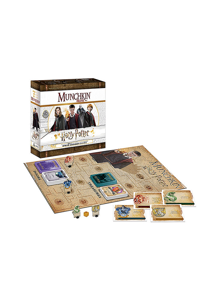 HARRY POTTER Munchkin Deluxe: Harry Potter Edition Board Game