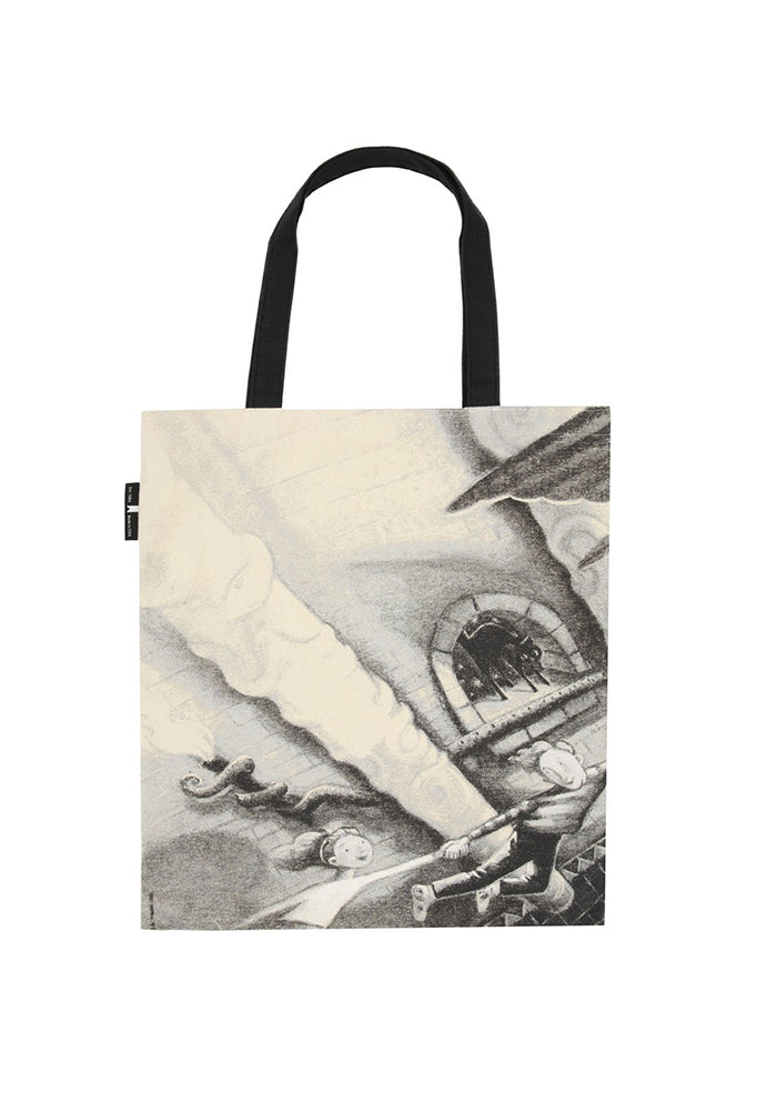 HARRY POTTER Out Of Print: Harry Potter and the Chamber of Secrets Tote Bag