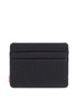 HERSCHEL SUPPLY CO. Charlie Black Slim Wallet