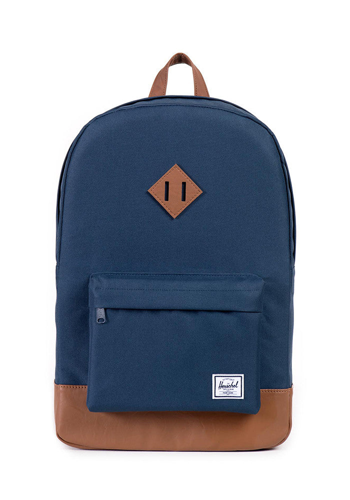 HERSCHEL SUPPLY CO. Heritage Navy and Tan Backpack