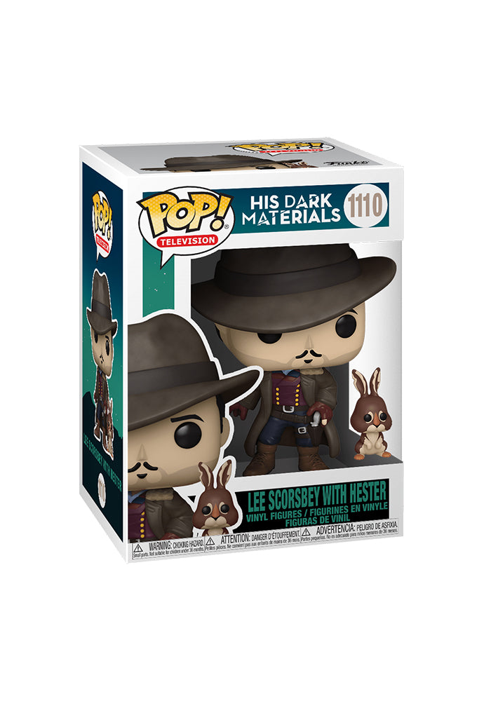 HIS DARK MATERIALS Funko Pop! TV: His Dark Materials - Lee Scorsbey With Hester
