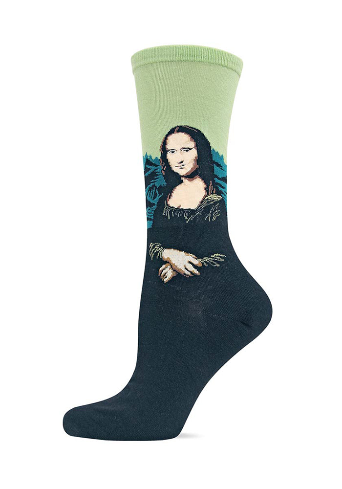 HOT SOX Da Vinci's Mona Lisa Women's Socks