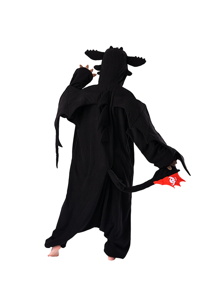 HOW TO TRAIN YOUR DRAGON Toothless The Dragon SAZAC Kigurumi Costume