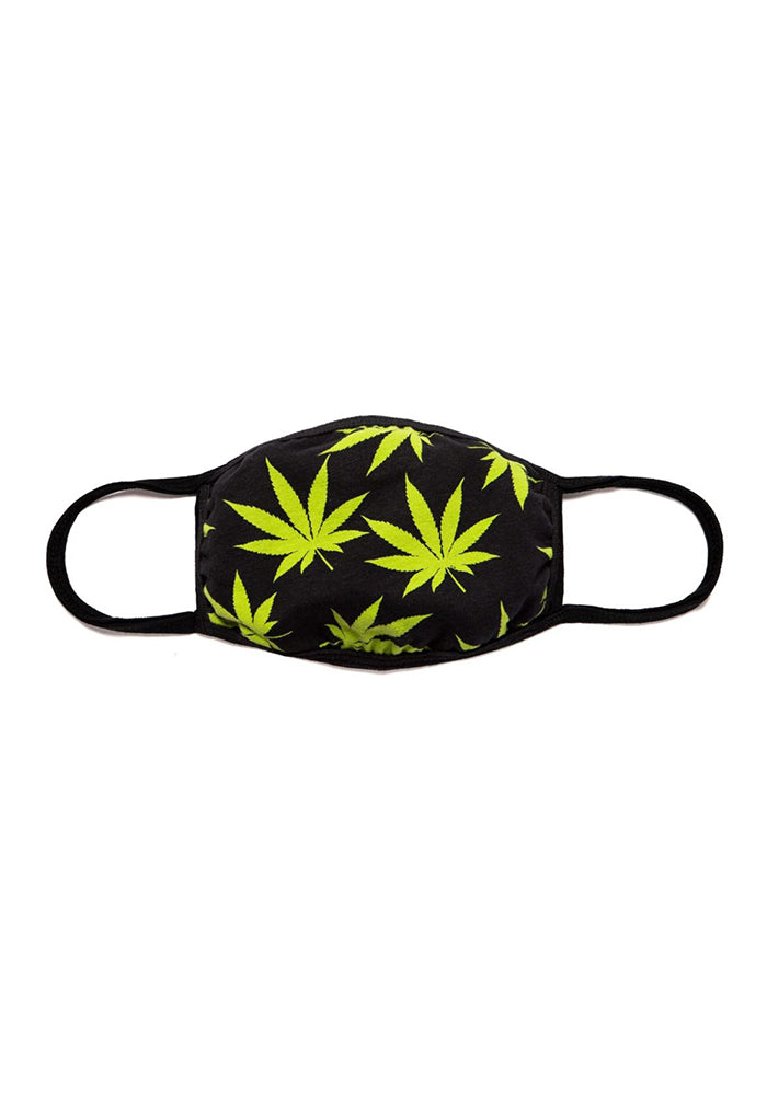 HUF Plantlife Face Mask - Black