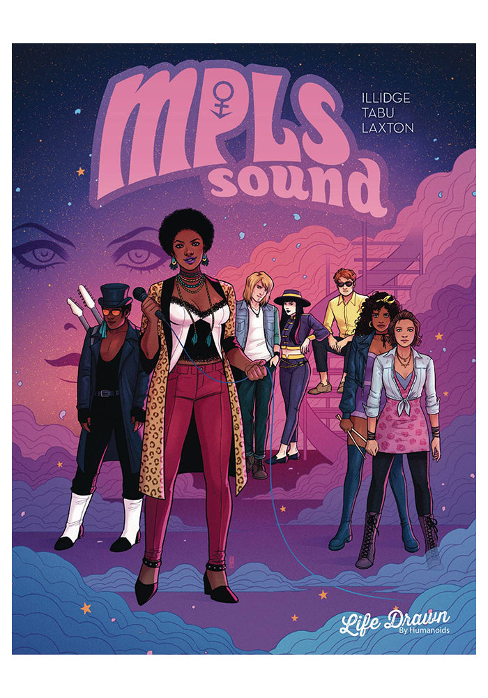 HUMANOIDS MPLS Sound Graphic Novel