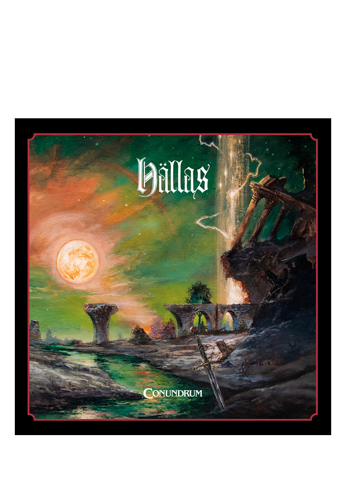 HALLAS Conundrum CD