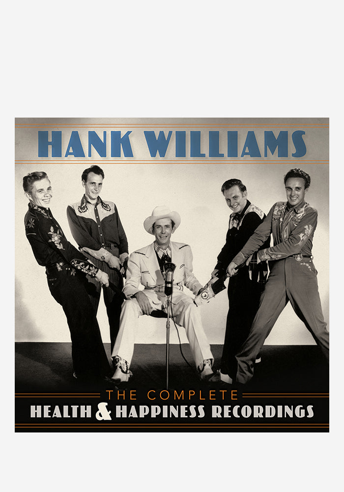 HANK WILLIAMS The Complete Health & Happiness Recordings 3LP