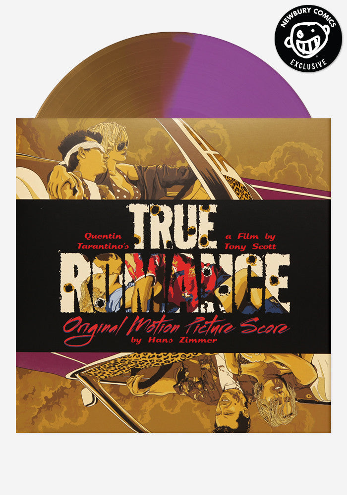 HANS ZIMMER Soundtrack - True Romance Original Motion Picture Score Exclusive LP + 7""