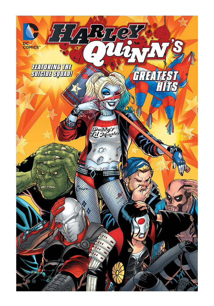 DC COMICS Harley Quinn's Greatest Hits Graphic Novel