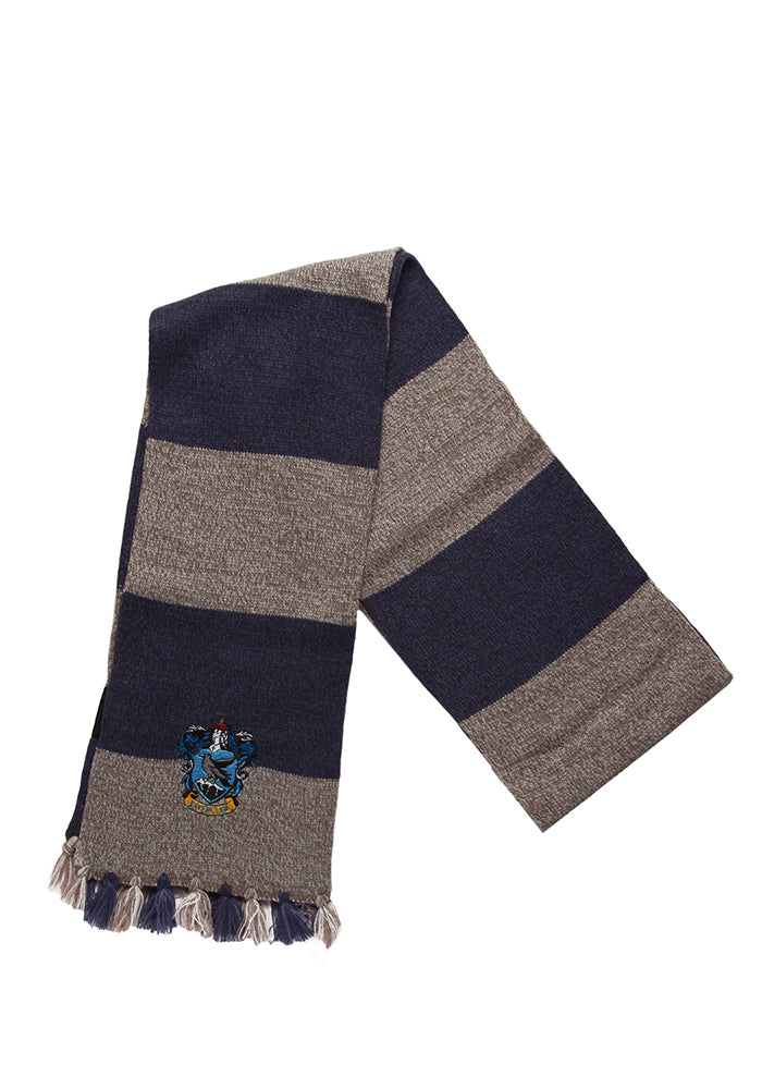 HARRY POTTER Ravenclaw Stripes Patch Scarf