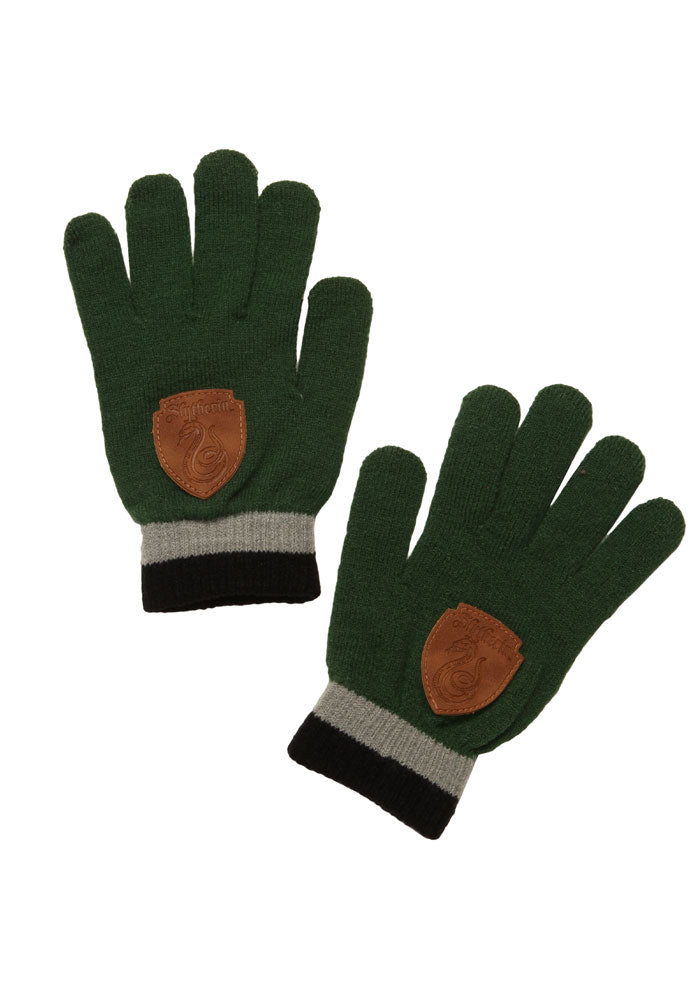 HARRY POTTER Slytherin Gloves With Crest