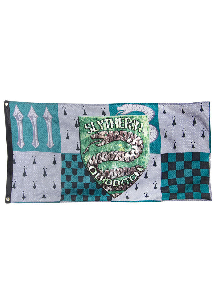 HARRY POTTER Slytherin Quidditch Banner