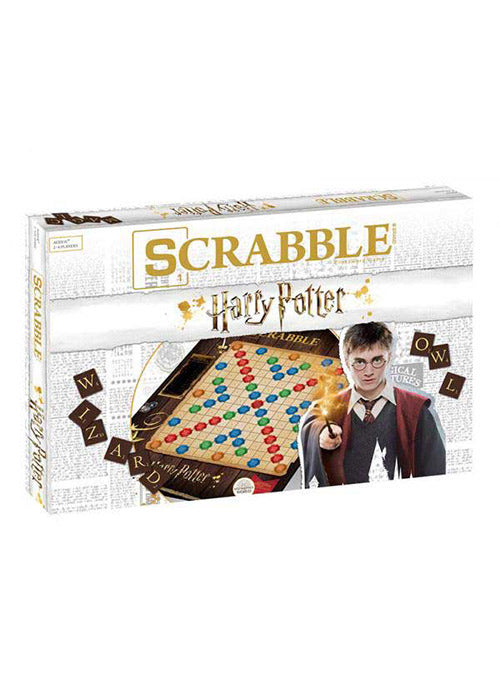 HARRY POTTER Harry Potter: Wizarding World Scrabble