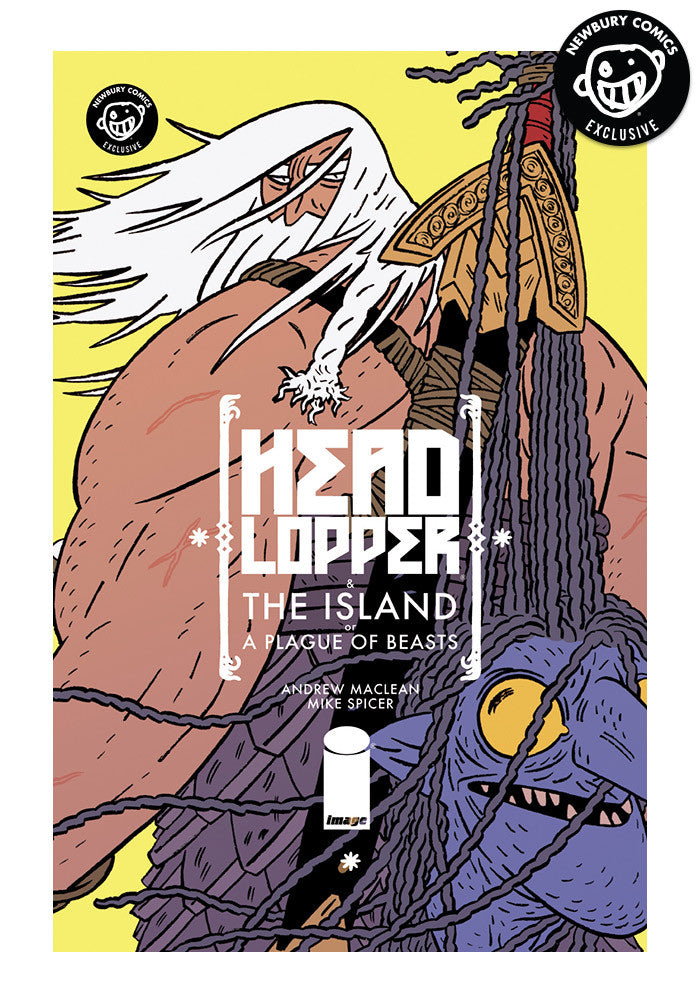 IMAGE COMICS Head Lopper Vol 1: The Island Or A Plague Of Beasts Exclusive Variant Graphic Novel