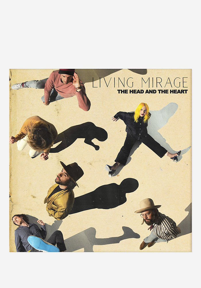 THE HEAD AND THE HEART Living Mirage CD With Autographed Booklet