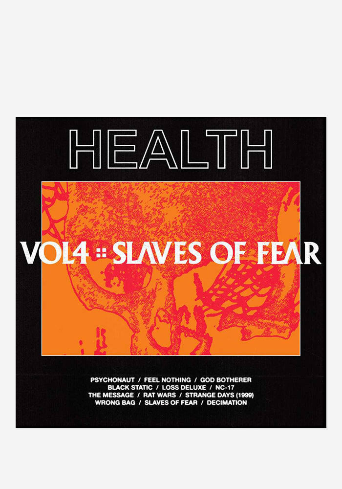 HEALTH VOL. 4 :: SLAVES OF FEAR CD With Autographed Booklet