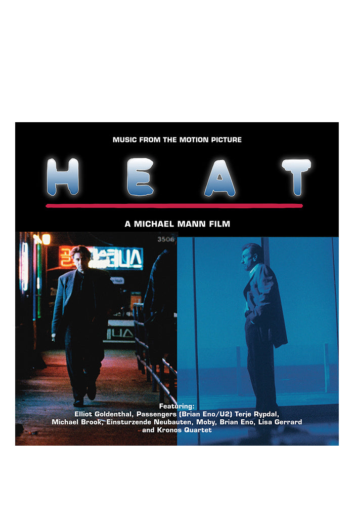 VARIOUS ARTISTS Soundtrack - Heat 2LP