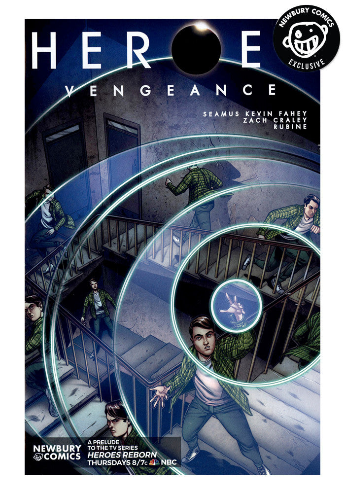 TITAN COMICS Heroes: Vengeance #1 Exclusive Comic Variant