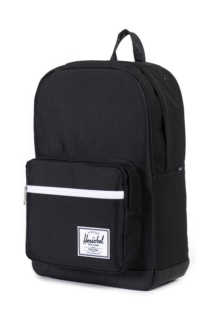 HERSCHEL SUPPLY CO. Pop Quiz Black and Black Silver Backpack