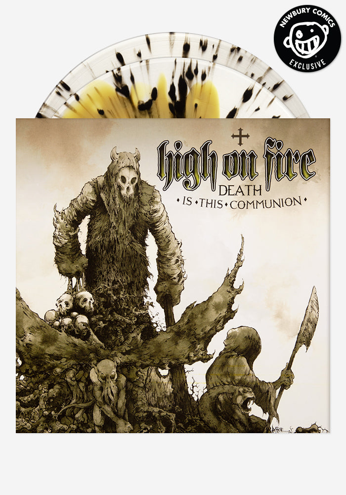 HIGH ON FIRE Death Is This Communion Exclusive 2LP