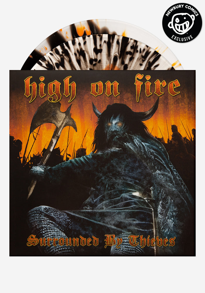 HIGH ON FIRE Surrounded By Thieves Exclusive 2LP