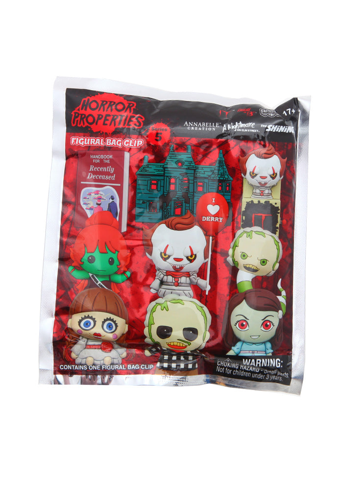 HORROR Horror Properties 3D Foam Character Bag Clip Blind Bag (Series 5)