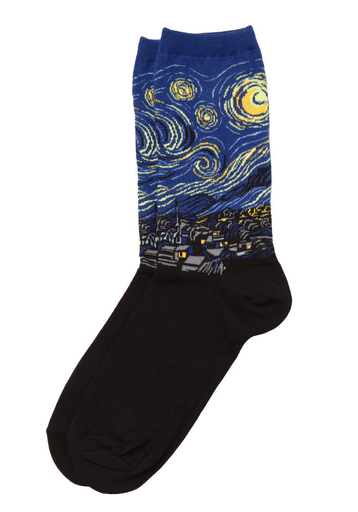 HOT SOX Van Gogh Starry Night Socks