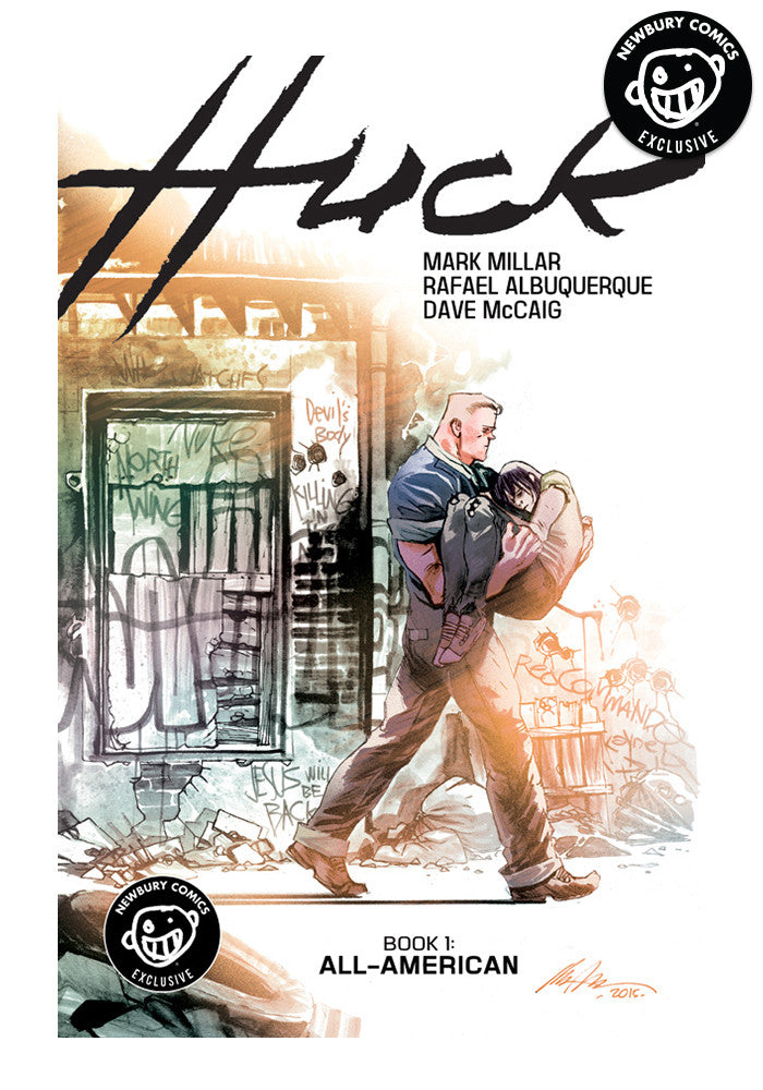IMAGE COMICS Huck Vol. 1: All-American Exclusive Variant Graphic Novel