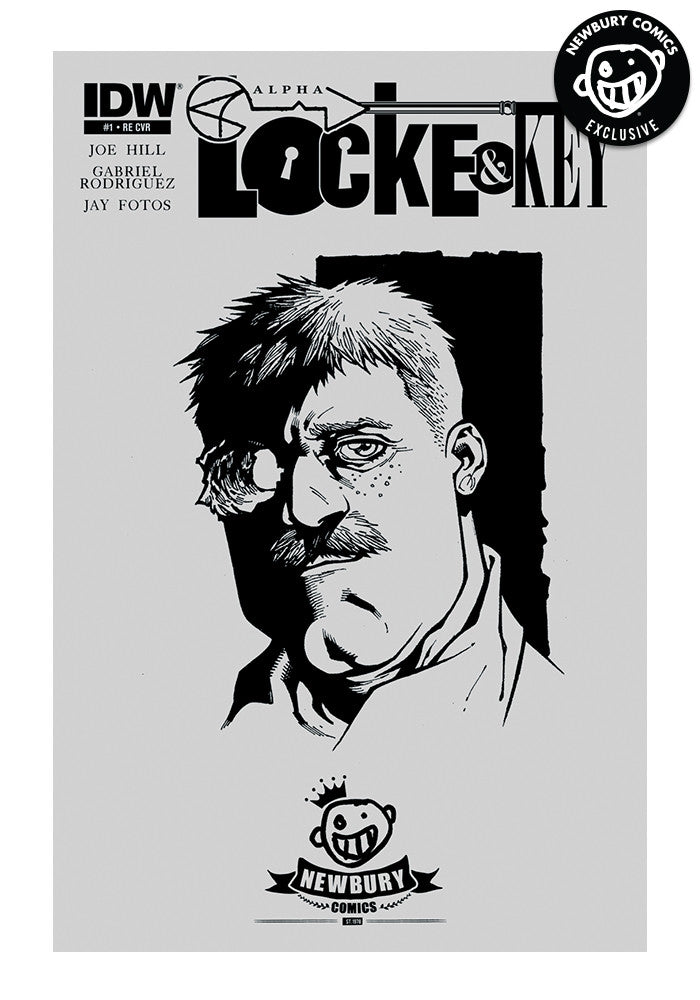 IDW PUBLISHING Locke & Key Alpha #1 (Rendell)