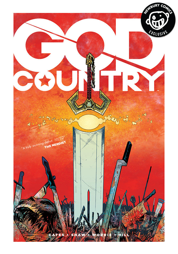 IMAGE COMICS God Country Exclusive Variant Graphic Novel