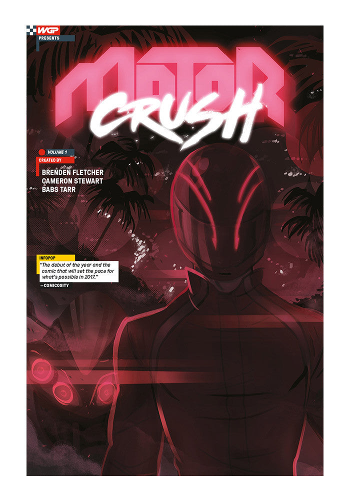 IMAGE COMICS Motor Crush Vol 1 Graphic Novel