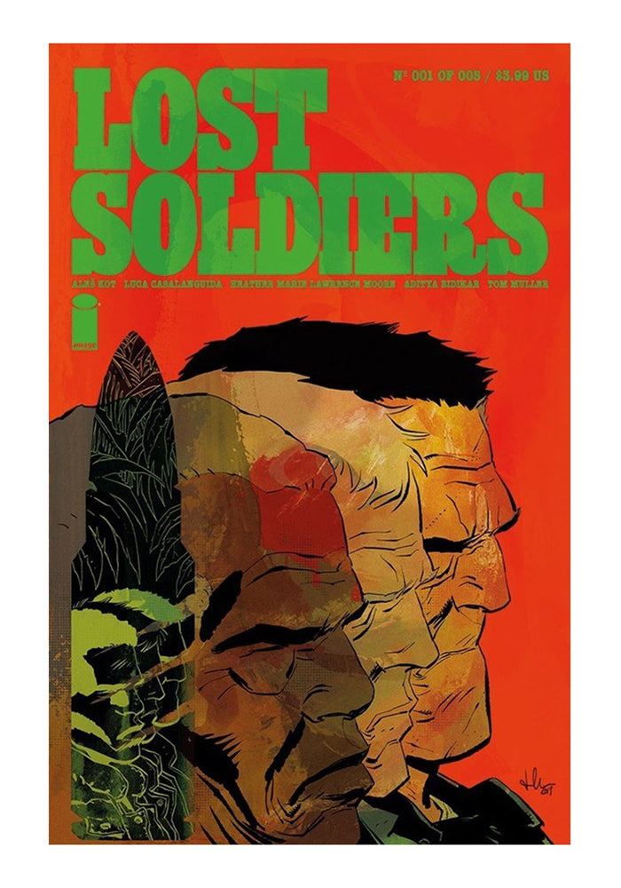 IMAGE COMICS Lost Soldiers Graphic Novel