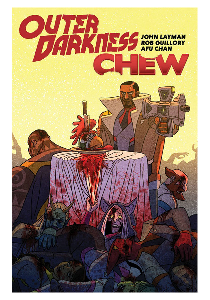 IMAGE COMICS Outer Darkness / Chew Graphic Novel