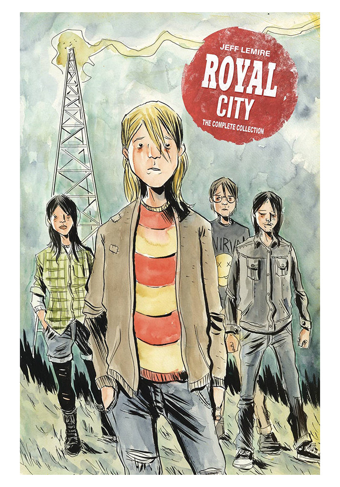 IMAGE COMICS Royal City Book 1: The Complete Collection Hardcover Graphic Novel