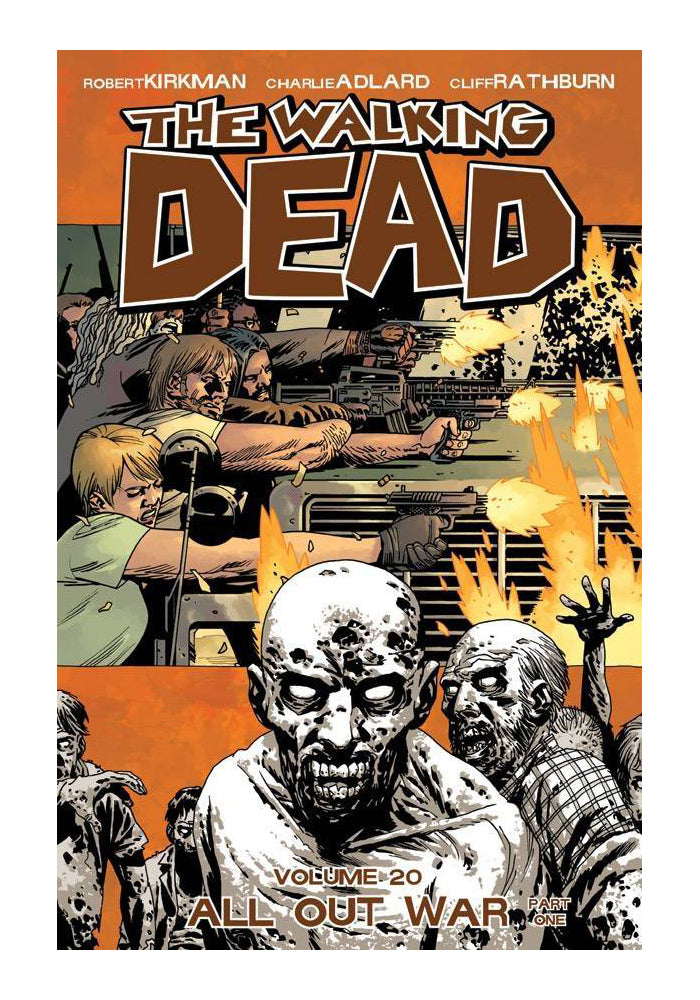 IMAGE COMICS The Walking Dead Vol. 20: All Out War Part 1 Graphic Novel