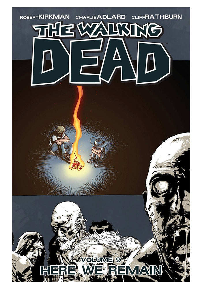 IMAGE COMICS The Walking Dead Vol. 9: Here We Remain Graphic Novel