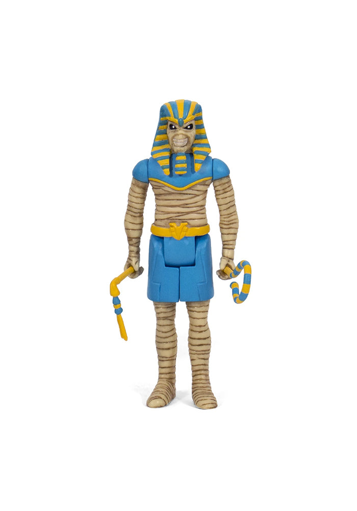 IRON MAIDEN Iron Maiden ReAction Figure - Power Slave Pharaoh Eddie