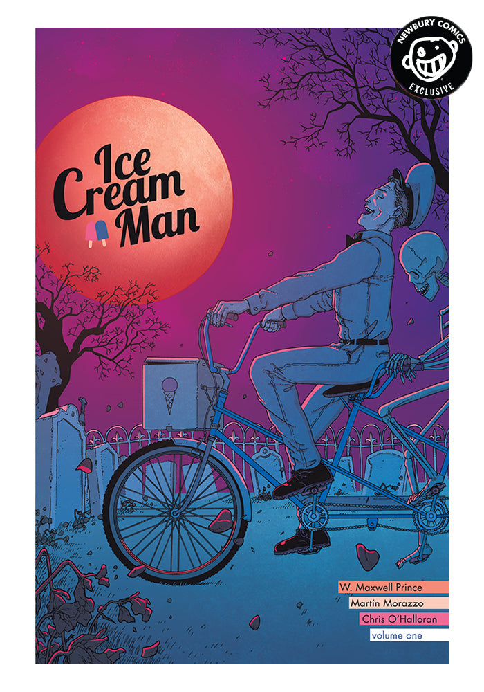 IMAGE COMICS Ice Cream Man Vol 1 Rainbow Sprinkles Exclusive Variant Graphic Novel